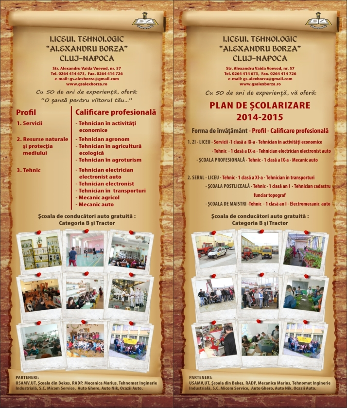 plan de scolarizare-2014-2015